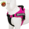 Chai's Choice Service Dog Vest Harness Fuchsia