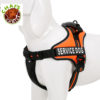 Chai's Choice Service Dog Vest Harness Orange