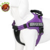 Purple-Service-Dog-Vest-Harness 2