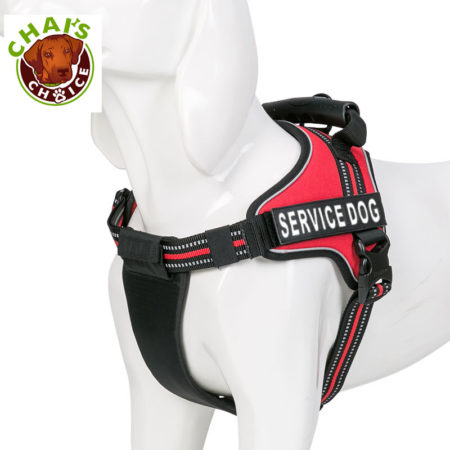 Red-Service-Dog-Vest-Harness 2