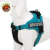 Chai's Choice Service Dog Vest Harness Teal